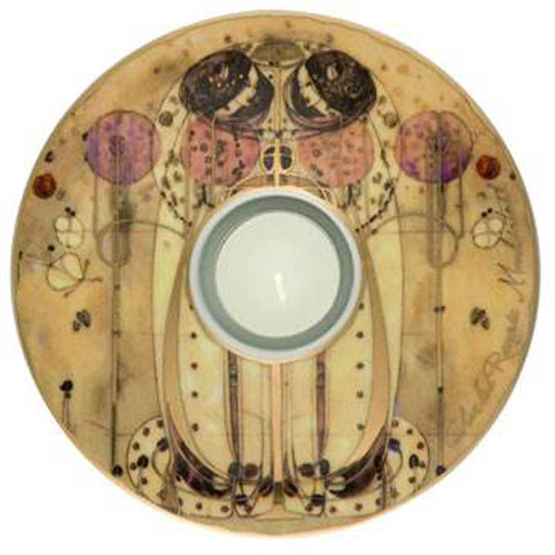 Świecznik Art Light Wassail 15cm Charles Mackintosh