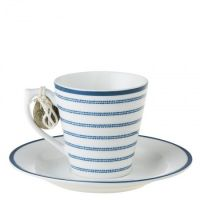 Filiżanka espresso Candy Stripe 80ml Laura Ashley