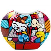 Wazon Happy Cat Snob Dog 17.5 cm Romero Britto