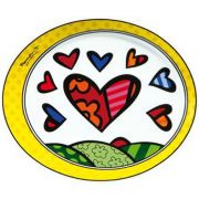 Talerz A New Day 25x21cm Romero Britto