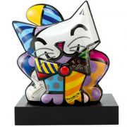 Figurka Blue Cat 27x30.5cm Romero Britto