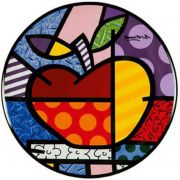 Talerz Big Apple 36cm Romero Britto