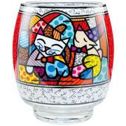 Świecznik Happy Cat Snob Dog 20 cm Romero Britto