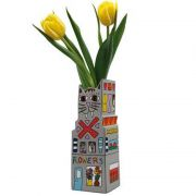 Wazon Cat a Flower 23 cm James Rizzi