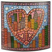 Lampa City Lights 25x25cm James Rizzi