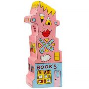 Podpórka Books To My Right 23cm James Rizzi