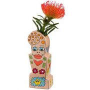 Wazon Flowers For My Girl 23.5cm James Rizzi