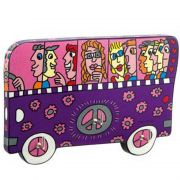 Tablica na klucze A Bus Ride 18x12cm James Rizzi