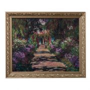 Obraz Pathway in Monet's Garden 58x48cm Claude Monet