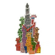 Zegar The City that Never Sleeps 41cm James Rizzi