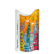 Wazon City Sunset 17 cm James Rizzi