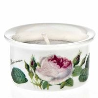 Tea light Redoute Rose Roy Kirkham