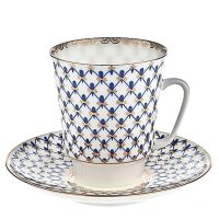 Filiżanka Majowa Siatka Bone China 165ml Łomonosov