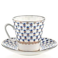 Filiżanka espresso Siatka Bone China 80ml Łomonosov