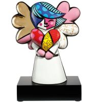 Figurka Faith 38cm Romero Britto Goebel