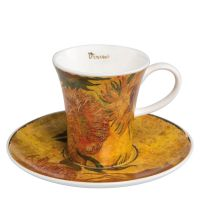 Filiżanka espresso Sunflowers I 100ml Vincent van Gogh Goebel