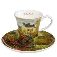 Filiżanka espresso Dom Artysty 100ml Claude Monet Goebel