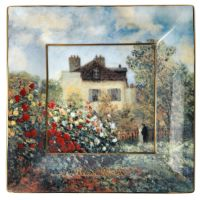 Misa The Artists House 16x16 cm Claude Monet Goebel