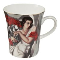 Komplet kubków 'Portrait of Mrs. Ira P.' 400 ml Tamara Lempicka Goebel