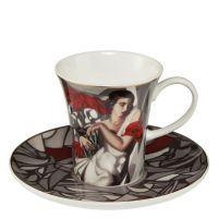 Filiżanki espresso 'Portrait of Mrs. Ira P.' 100 ml Tamara Lempicka Goebel
