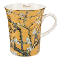 Kubki Almond Tree Gold 400ml 2szt Vincent van Gogh Goebel
