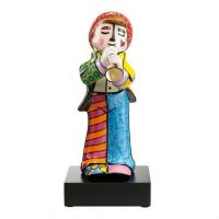 Figurka Trumpeter - big Pop Art Romero Britto