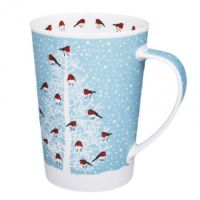 Kubek Argyll Snow Flurry Robin 500ml Dunoon