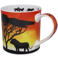 Kubek Orkney Savannah Lion 350ml Dunoon