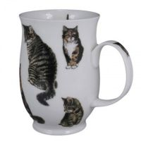 Kubek Suffolk Cats Tabby 300ml Dunoon
