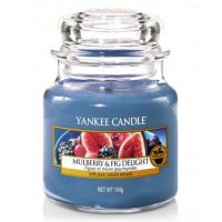 Świeca mała Yankee Candle Mulberry & Fig Delight