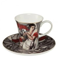 Filiżanki espresso \'Portrait of Mrs. Ira P.\' 100 ml 2 szt Tamara Lempicka Goebel