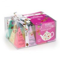 Herbaty Prezentowe Bio Super Fruit Tea Collection 12 piramidek English Tea Shop