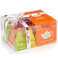 Herbaty prezentowe Organic Rooibos Collection 12 piramidek English Tea Shop