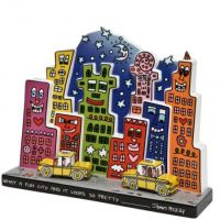 Figurka What a Fun city 22cm James Rizzi Goebel