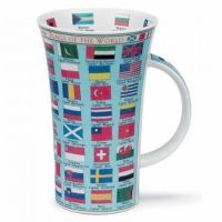 Kubek Glencoe Flags of the World 500ml Dunoon